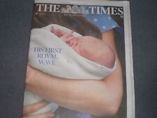 The Times UK Newspaper 24 July 2013 Royal Baby Prince George is born