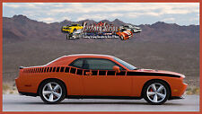 DODGE CHALLENGER SIDE STROBE DECAL GRAPHIC DECAL FACTORY STRIPE 2011-2012-2013