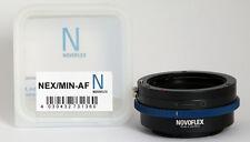 Novoflex adaptador Nex/min-af Sony/Minolta AF a Nex Nex/min af ***