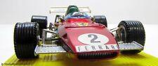 MEBETOYS 6671 GrandPrix Ferrari 312 B2 F1 Scale 1:28 in Vitrine