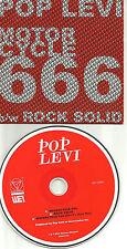 POP LEVI Motorcycle 666 w/ RARE DEVIL'S OWN MIX 3Trx UK PROMO DJ CD single 2011