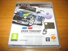 GRAN TURISMO 5 ACADEMY EDITION PAL ITA NEW PLAYSTATION 3 PS3!