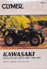 Kawasaki Bayou KLF300 300 2WD 4WD Repair Manual NEW!