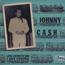 Johnny Cash-Lovin 'Locomotive man/i got Stripes-Columbia Rockabilly-REPRO