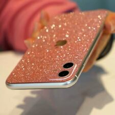 For iPhone 11 Pro Max XS XR 7 8 Glitter Sparkle Bling Back Film Phone Stickers