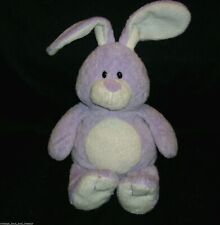 TY PLUFFIES TWITCHES PURPLE BUNNY RABBIT STUFFED ANIMAL PLUSH TOY 2006 EASTER