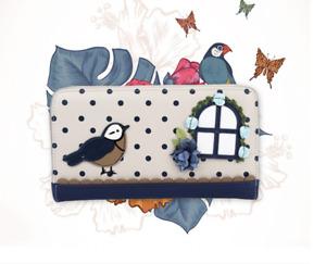 Vendula London Birdhouse Zip wallet