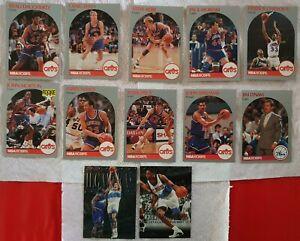 Lot de 12 Cartes Basketball NBA ( 11 Cleveland Cavaliers Nance / Ilgauskas /...