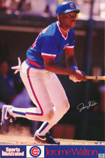 POSTER: MLB BASEBALL : JEROME WALTON  - CHICAGO CUBS - FREE SHIP #7504   RW14 B
