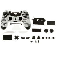 For Sony PlayStation 4 Wireless Controller Shell Case, Full Housing Repair Parts