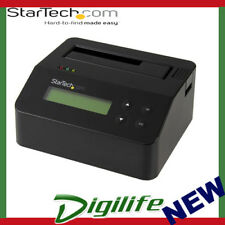 STARTECH Drive Eraser and Dock for 2.5 / 3.5in SATA SSD / HDD - USB 3.0
