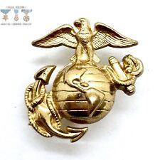 New listing Vietnam War Us Marine Corps Eagle Globe Anchor Hat Insignia Ega Dress Blue #003