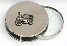 Traction Engine Magnifying Reading Glass Desktop Office Steam Rally Gift