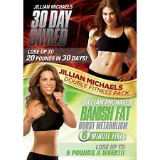 JILLIAN MICHAELS 30 DAY SHRED BANISH FAT BOOST METABOLISM DVD UK Release New R2
