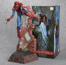 "Crazy Toys The Amazing Spiderman 18"" Peter Paker Action Figure Model Blue"