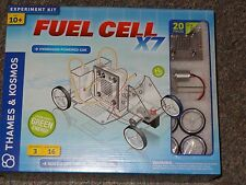Fuel Cell X7 Hydrogen Powered Car Science Experiment Kit Thames & Kosmos New
