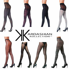 Kardashian Kollection Waist High Stretch Stocking Pattern Tights Sexy Hosiery AU