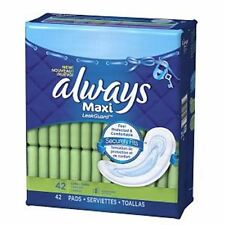 Always Maxi Pads Without Wings Long-super 42 EA