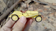 1/43 1913 Hispano Suiza Alfonso XIII 1900s Diecast Model Classic Car Yellow 1:43