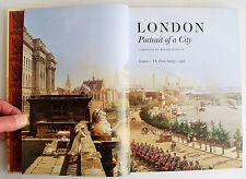 LONDON PORTRAIT OF A CITY Folio Society 1998 Roger Hudson illust VGC NO BOX