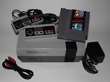 NINTENDO NES SYSTEM CONSOLE WITH NEW 72 PIN, SUPER MARIO DUCK HUNT, & ZAPP GUN y
