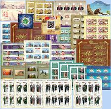 RUSSIA 2016 Q4 part of FULL YEAR Set in FULL SHEETS MNH FREE SHIPPING