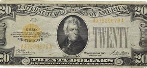 Savoca Coins USA 20 Dollars 1928 A 37529679 A Banknote =BZA72893