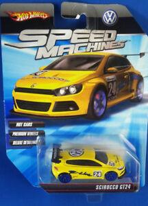 Hot Wheels Speed Machines R-line Scirocco Gt24 2009