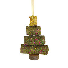 Rosewood Hay Roll Chew Tube Christmas Tree - Hamsters Gerbils Mice Rats Degus