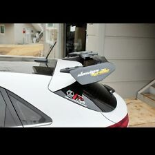 Rear Roof Wing Spoiler Unpainted Aero Parts For Hyundai I30 Elantra GT 2012~2016
