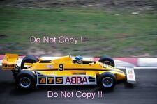 Slim Borgudd ATS HGS1 Belgian Grand Prix 1981 Photograph