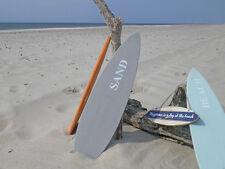 Schild Surfboard grau