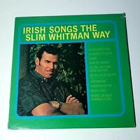 Slim Whitman: Irish Songs: Liberty 1982 Vinyl LP (Country)