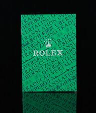 Rolex cuadernillo oficiales cronómetros certificado
