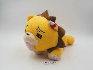 """Bleach Kon Lion B2804 Banpresto Plush 7"""" 2005 Laying Stuffed Toy Doll Japan"""