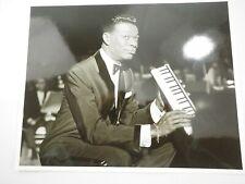 "Nat King Cole at Sands Hotel & Casino 1962 Las Vegas photo 8"" x 10"""