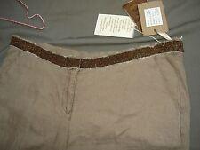 Pantalon lin et perles, YESTERDAY NEVER DIES linen vintage taille 44  neuf 185 €