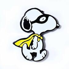 Collectible Pendant Lapel Hat Pin Cute Superhero Snoopy Peanuts Gang