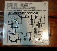 Classic Records LP 1rst Edition New Music Consort Pulse Works (Cage) nw319