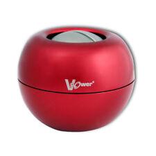 DYNAFLEX RED V-POWER WRIST EXERCISER STEEL GYRO POWERBALL - plus display case!