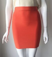 bcbg max azria Orange Bandage Mini Skirt Size XS Party Club Sexy