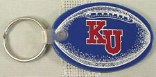 KANSAS UNIVERSITY FOOTBALL KEY RING / FOB