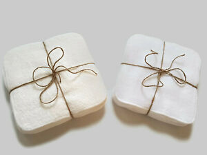 Wipes Baby Bamboo/Cotton Luxury 12Pack by Muslinz 20x20cm