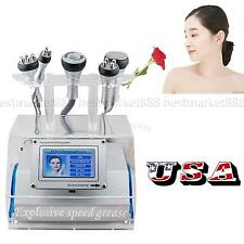 USA SHIP 5 in 1 Cavitation Vacuum Bipolar RF Laser Slimming Machine fat Burning