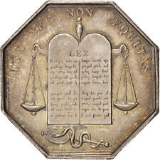 [#400600] France, Notary, Token, Ms(60-62), Silver, 31, Lerouge #327, 16.30