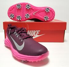 096cbaa9d30c Women Nike Golf Lunar Command 2 Golf Shoes 880120 600 Size 7 Pink Bordeaux