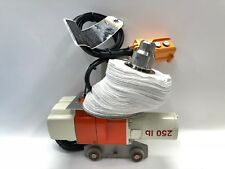 AMAT 5.4FI Ceiling Suspended Crane Monorail 250Lbs 10' 120V NEW Clean room crane