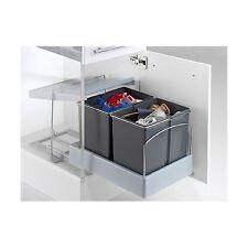 Wesco Automatic-Master-Boy Einbau Mülleimer 2x15 L