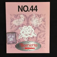Lace Embroidery Designs Card #44 for Bernina Deco Brother Baby Lock White