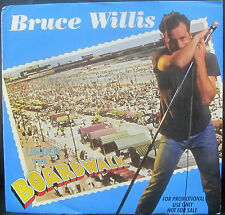 "Bruce Willis - UNDER THE BOARDWALK - Promo Vinyl 7"" Single [1987] NM"
